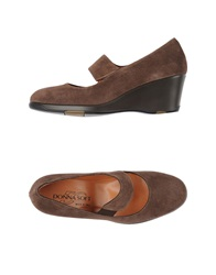 Donna Soft Pumps Dark Brown