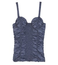 J.W.Anderson Smocked Camisole Blue