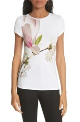 Ted Baker London Harmony Fitted Tee White