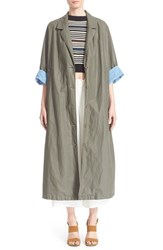 Women's Rachel Comey 'Zia' Water Resistant Waxed Trench
