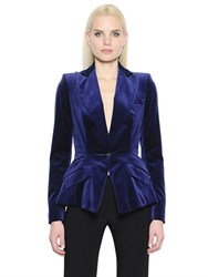 Antonio Berardi Cotton And Silk Velvet Jacket