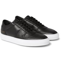Common Projects Bball Leather Sneakers Black