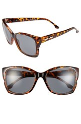 Women's Bcbgmaxazria 56Mm Butterfly Sunglasses Tortoise