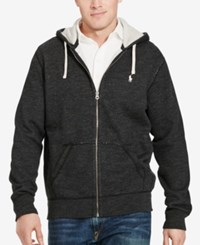Polo Ralph Lauren Men's Big And Tall Full Zip Fleece Hoodie Black
