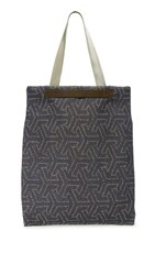Mismo M S Flair Tote Indigo Passage Dark Brown