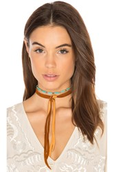 Vanessa Mooney Dallas Choker Turquoise