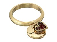 Marc Jacobs Mj Coin Charm Ring Red