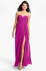 Women's Faviana Sweetheart Chiffon Gown Online Only