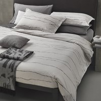 Diesel Living Ripped Waves Bed Set Grey King