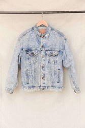 Urban Renewal Vintage Levi's Acid Wash Trucker Denim Jacket Assorted