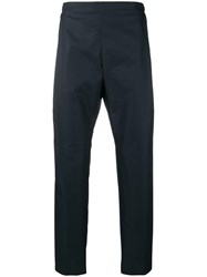 Stephan Schneider Division Tapered Trousers Blue