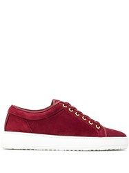 Etq Amsterdam Etq. Flat Lace Up Sneakers Red