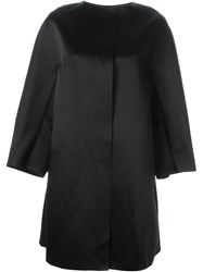 Yang Li Oversized Coat Black
