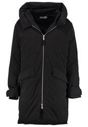 Kiomi Winter Coat Washed Black Anthracite