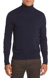 Vince Camuto Men's Merino Wool Turtleneck Navy
