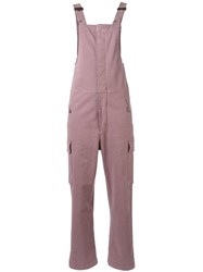 See By Chloe Casual Jumpsuit Women Cotton Spandex Elastane 38 Pink Purple