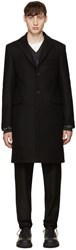 Acne Studios Black Wool Garrett Coat