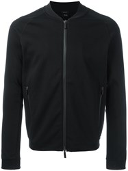 Hugo Boss Zip Up Bomber Jacket Black