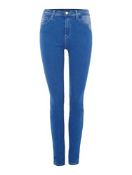 Replay High Waisted Joi Jeggings Blue