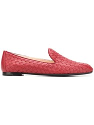 Bottega Veneta Fiandra Slippers Red