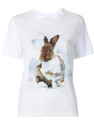 Paul Smith Ps By Bunny Print T Shirt White