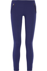 Emilio Pucci Stretch Cady Leggings Blue