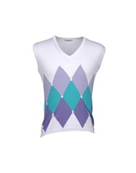 Kangra Cashmere Sweater Vests Lilac