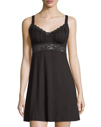 Cosabella Talco Curvy Chemise Nightie Black Women's Size Medium