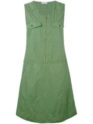 Tomas Maier Chest Pocket Dress Green