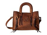 Sts Ranchwear Small Chaps Satchel Brown Satchel Handbags