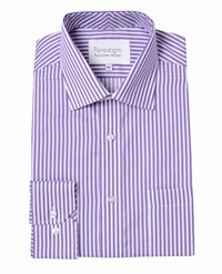 Double Two Paradigm By Formal Shirt Purple