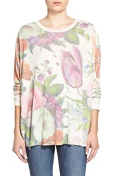 Wildfox Couture 'Baggy Beach Jumper Vintage China Flowers' Pullover Multi
