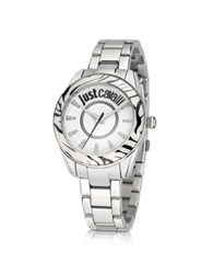 Just Cavalli Just Style Stainless Steel Women's Watch Silver