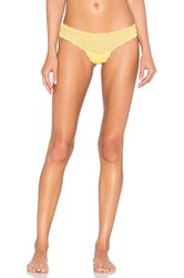 Cosabella Sweet Treats Geo Thong Yellow
