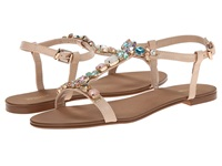 Dune Khloe Nude Leather Women's Dress Sandals Pink
