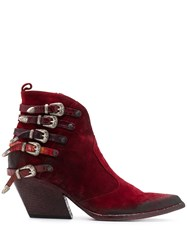 Strategia E2045 Buckle Ankle Boots 60
