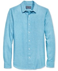 American Rag Men's Solid Long Sleeve Shirt Only At Macy's Curaco Nights