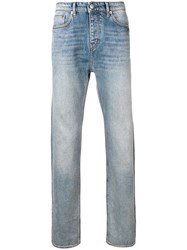 Zadig And Voltaire Straight Leg Jeans Blue
