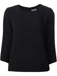 Maiyet Three Quarter Sleeve Top Black