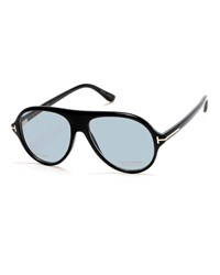 Tom Ford N.1 Private Collection Real Horn Aviator Optical Frames Black