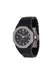 D1 Milano Premium Watch Steel Polycarbonite Black