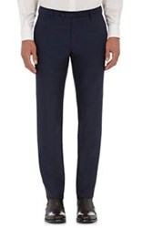 Incotex Men's Twill Marvis Trousers Blue
