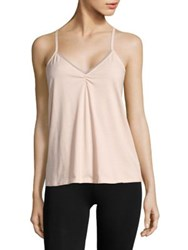 Skin Organic Pima Cotton Blend Camisole Pink Blush