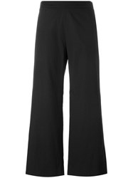 Fabiana Filippi Wide Leg Cropped Trousers Black