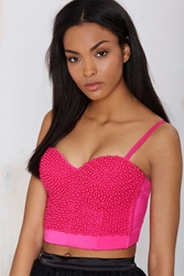 Nasty Gal Like Candy Beaded Bustier
