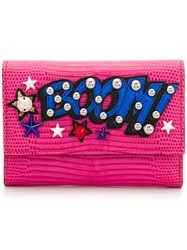 Dolce And Gabbana Small Continental Wallet Pink