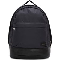 Paul Smith Navy Satin Backpack