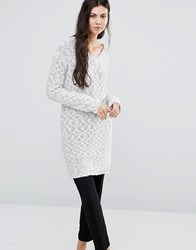 Minimum Torun Long Knit Jumper Broken White