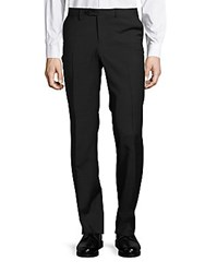 Versace Pantalone Striped Dress Pants Black