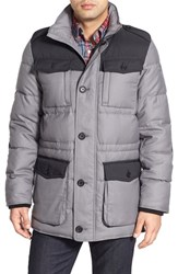 Men's Victorinox Swiss Army 'Lausanne' Down Parka Alloy